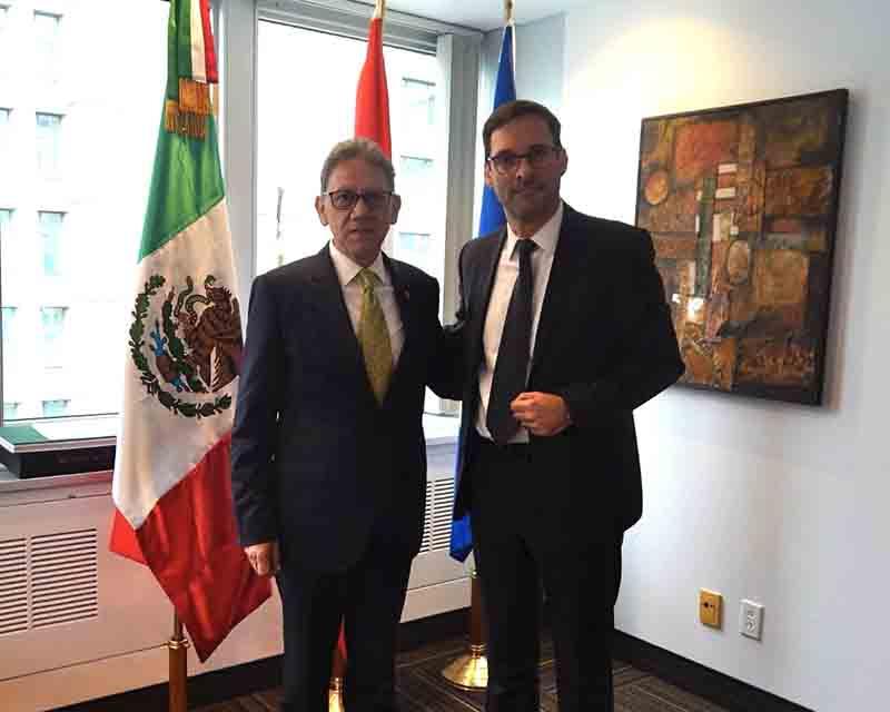 Realiza rector de la UAEMéx gira de trabajo en Canadá