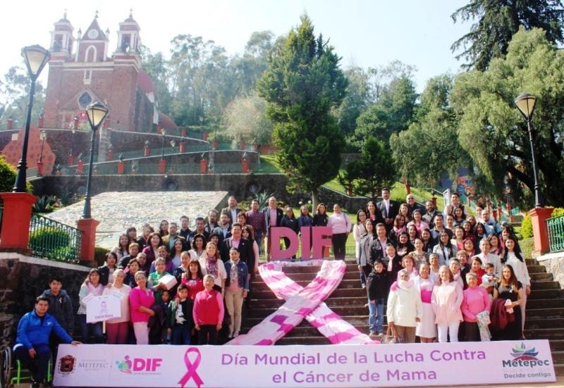 Conmemora Metepec Día Mundial contra cáncer de mama