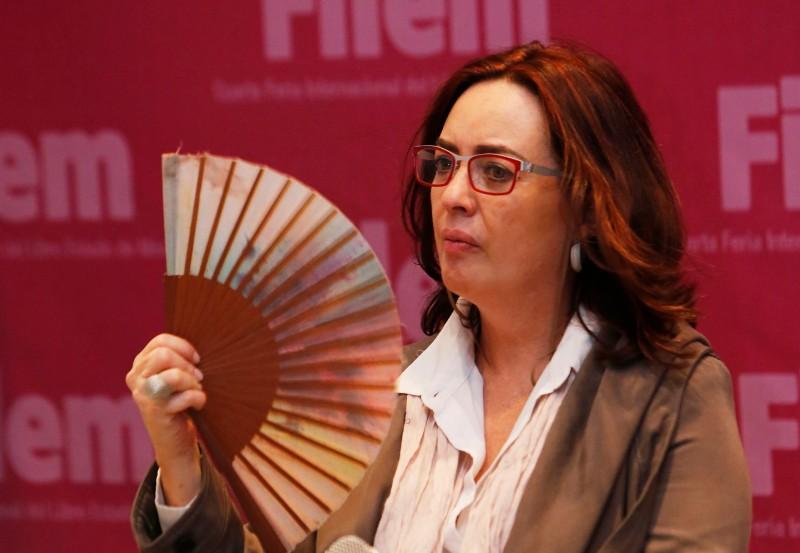 Beatriz Rivas presentó en FILEM su novela Jamás, nadie