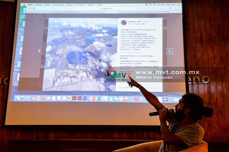El fotógrafo mexicano, Santiago Arau, ofrece conferencia a estudiantes universitarios