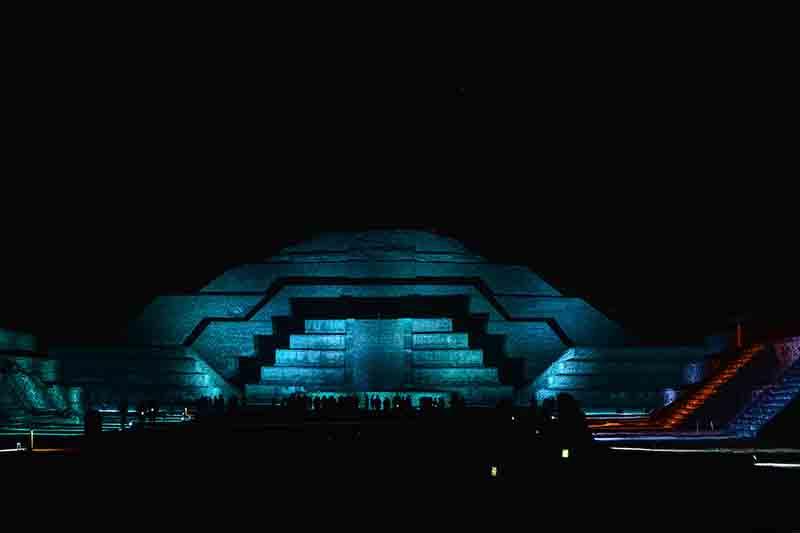 Lista la cuarta temporada de Experiencia Nocturna en Teotihuacan