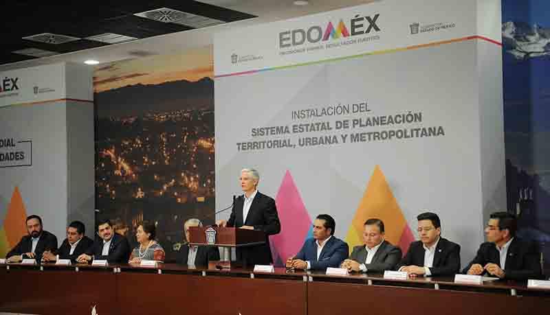 Instalan Sistema Estatal de Planeación del Ordenamiento Territorial, Desarrollo Urbano y Metropolitano