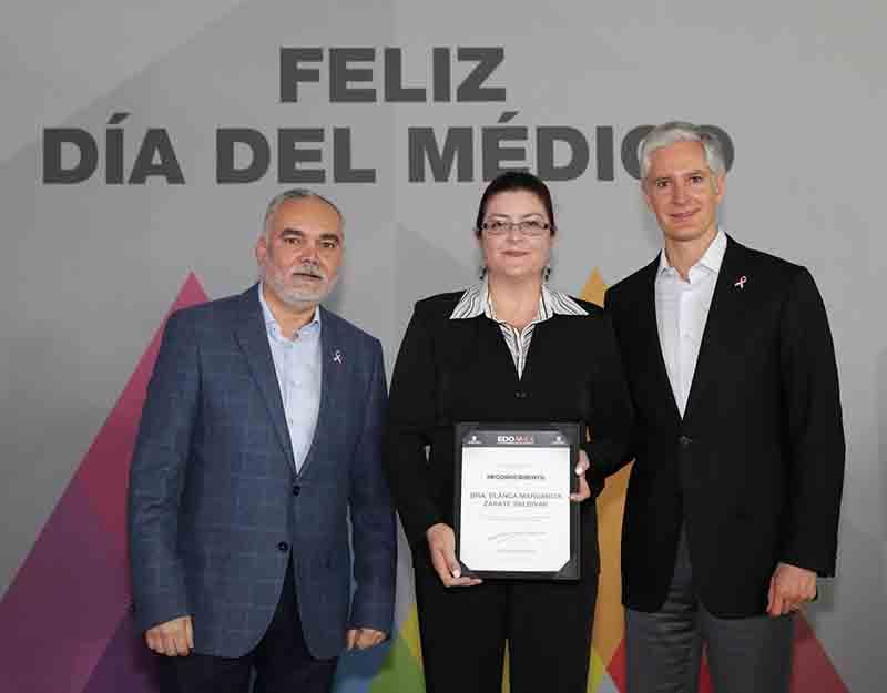 Celebran Día del Médico en Chapultepec