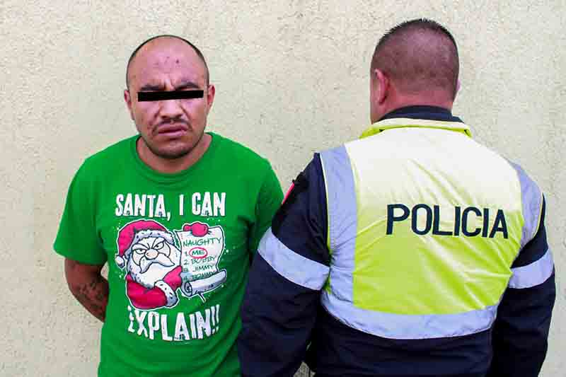 Capturan a presuntos ladrones tras persecución en Toluca
