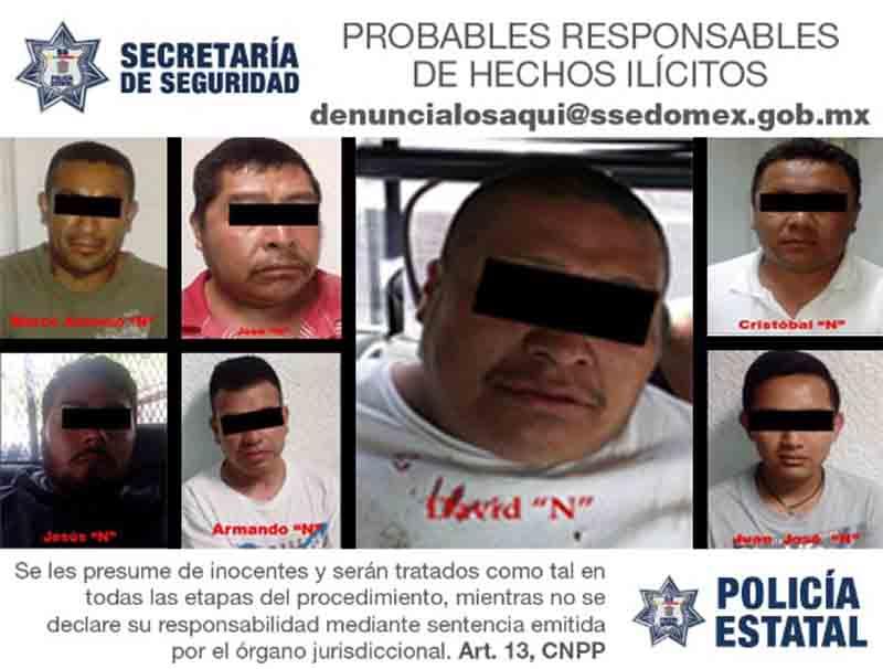 Detienen a policías de Malinalco ¡por asaltar!