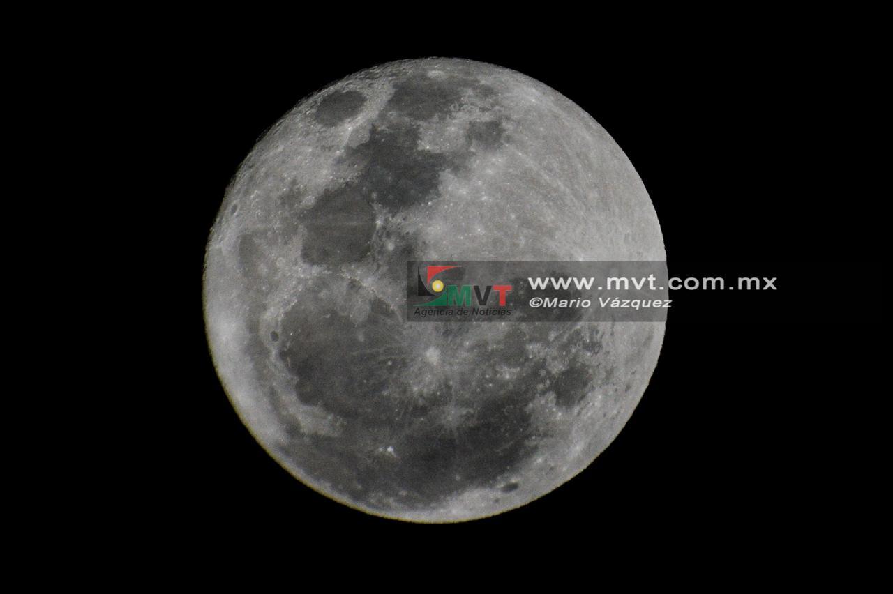 En Toluca también se verá el eclipse lunar