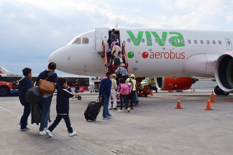 Inicia Viva Aerobús vuelos a Cancún y Monterrey desde Aeropuerto Internacional de Toluca
