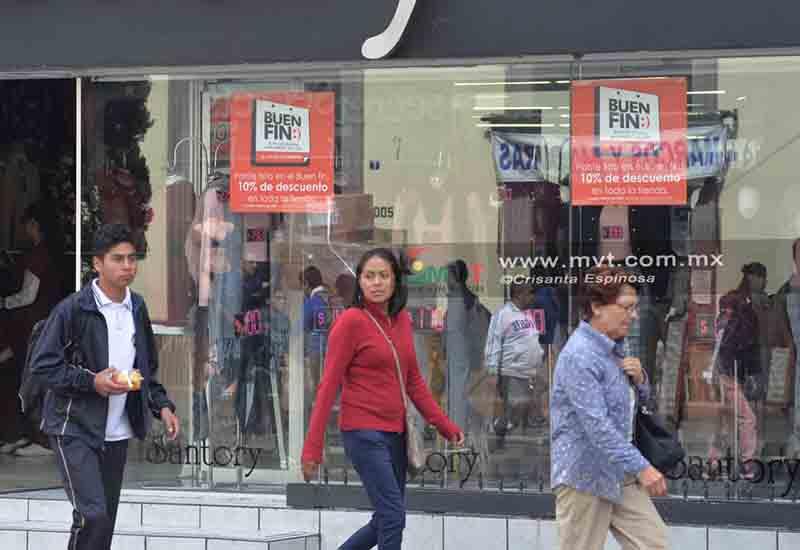 Especial atención a ocho zonas comerciales de Toluca por el Buen Fin