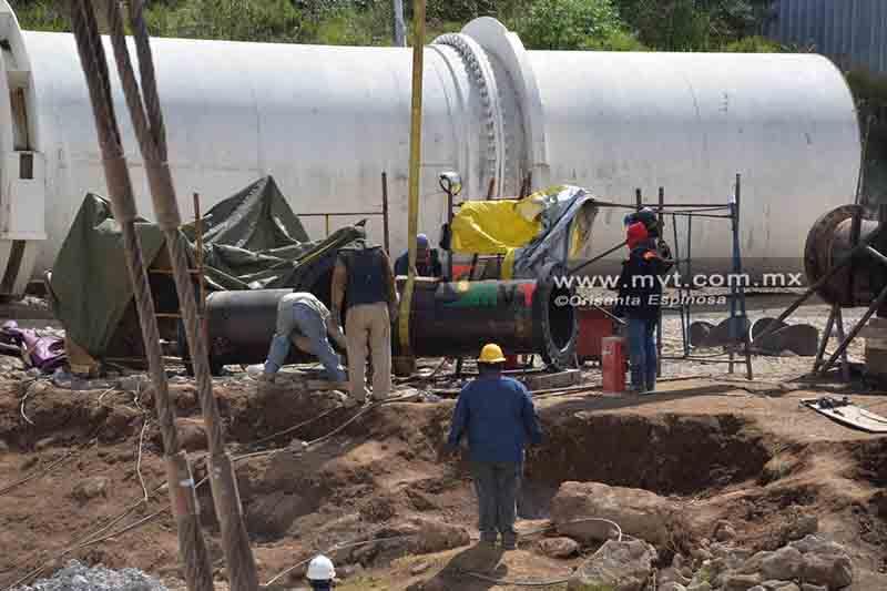 Continúa EdoMéx estrategia de coordinación hasta conclusión de mantenimiento al Cutzamala