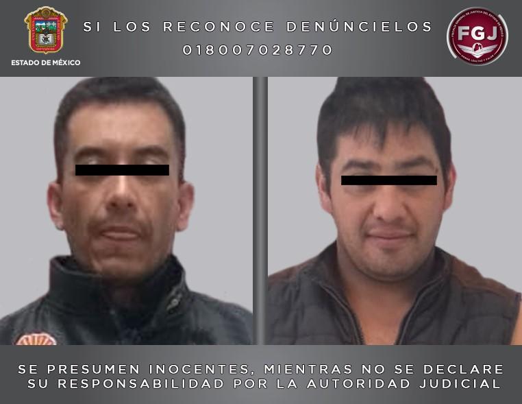 Procesan a dos sujetos por asaltos en Ixtlahuaca y Atlacomulco