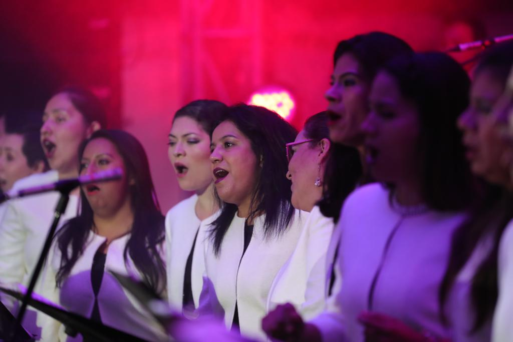 Coro Polifónico realiza homenaje a Juan Gabriel en el Festival de las Almas