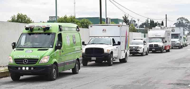 Envían contingente de salud mexiquense a Nayarit para auxilio a damnificados