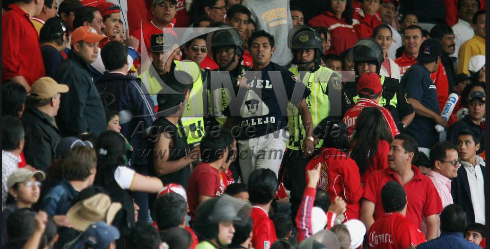 Disponen de más de 2 mil policías para el Toluca-Pumas
