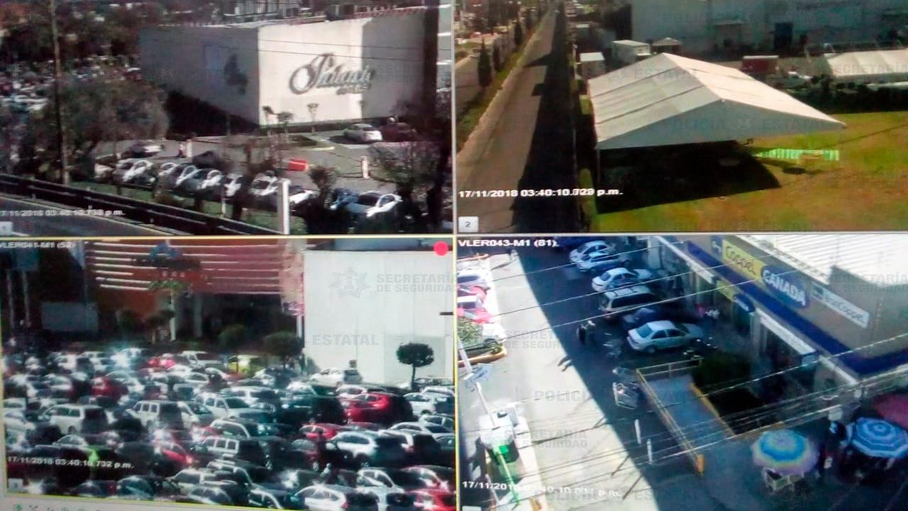Vigilancia constante en centros comerciales durante Bien Fin