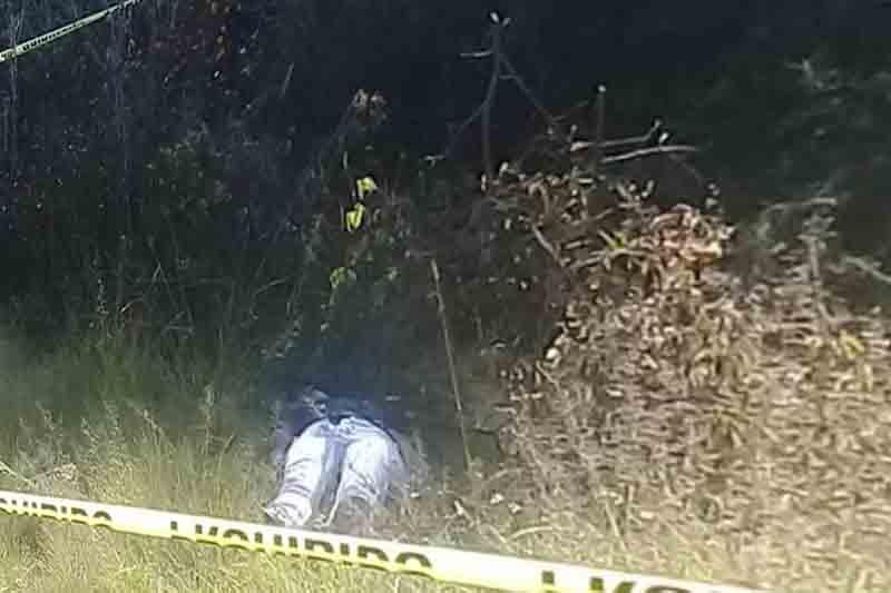 Encuentran cadáver de mujer en paraje de Tenancingo
