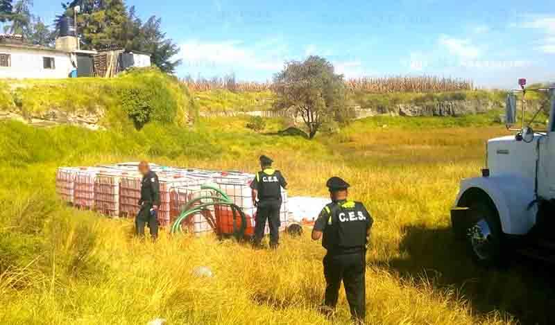 Norte del Edoméx: foco rojo por robo de combustible