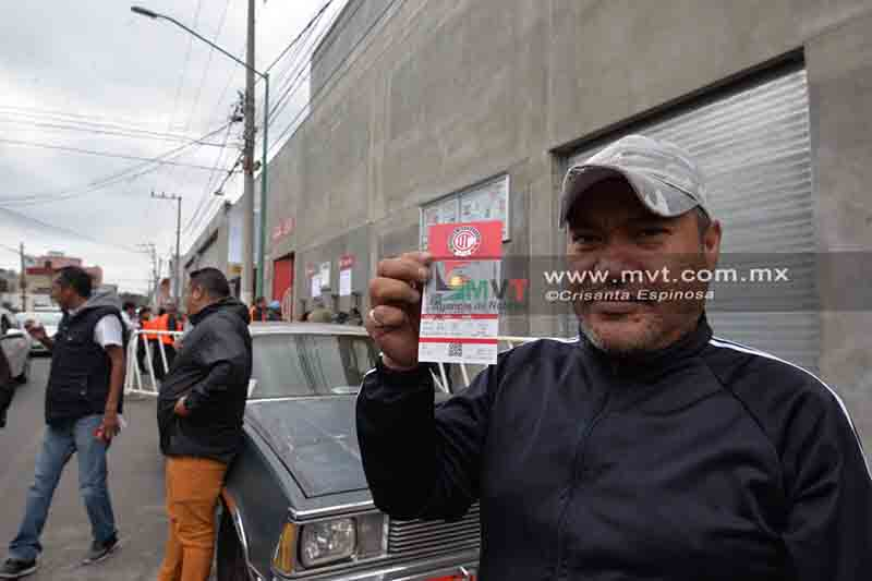 Escasean boletos para Toluca-América en La Bombonera