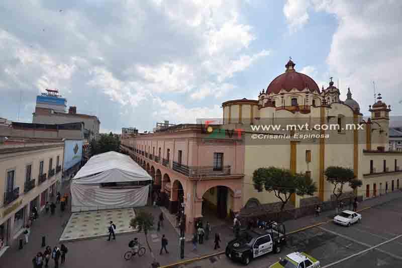 Ferias temporales también afectan comercio formal en el Centro Histórico
