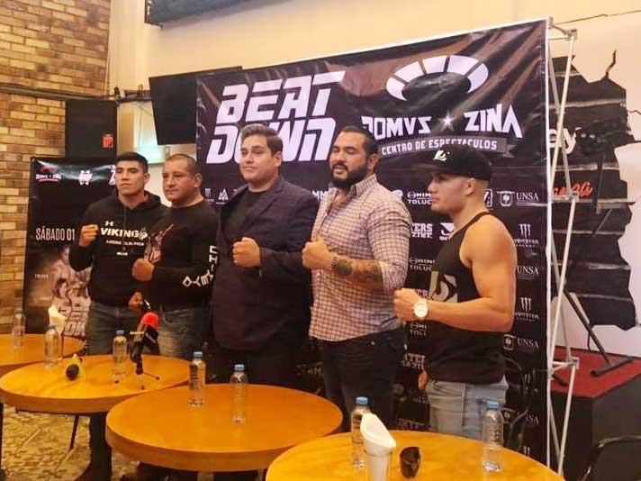 """En puerta el combate entre Arturo """"Toluco"""" Contreras y Ricardo """"El Cuate"""" Aguilar en el DOMVZ Zina"""