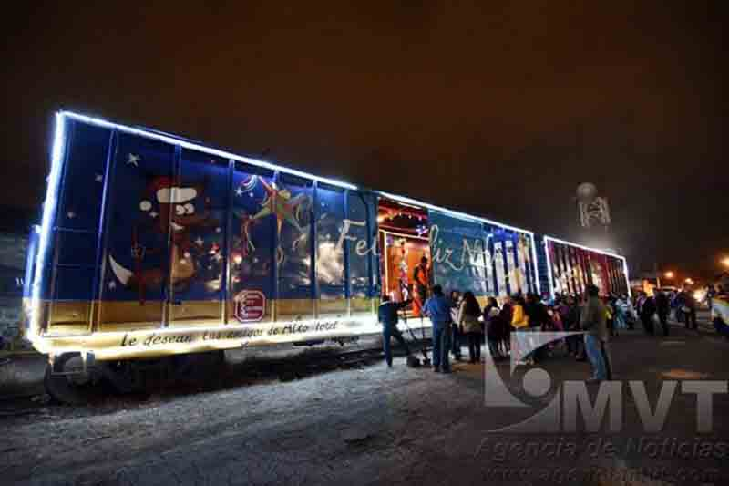 La gira del tren navideño de Kansas City Southern cerrará en Toluca