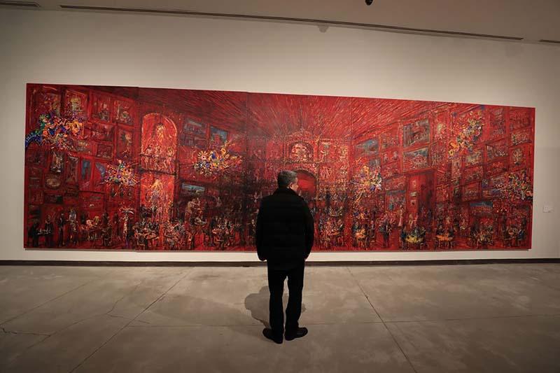 """Disfruta del arte y la musica en la exposición """"Retrato de ausencia"""" de Jazzmoart"""