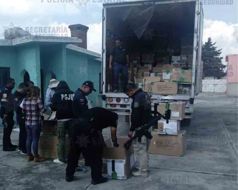 Recuperan 2 millones en zapatos robados en Toluca