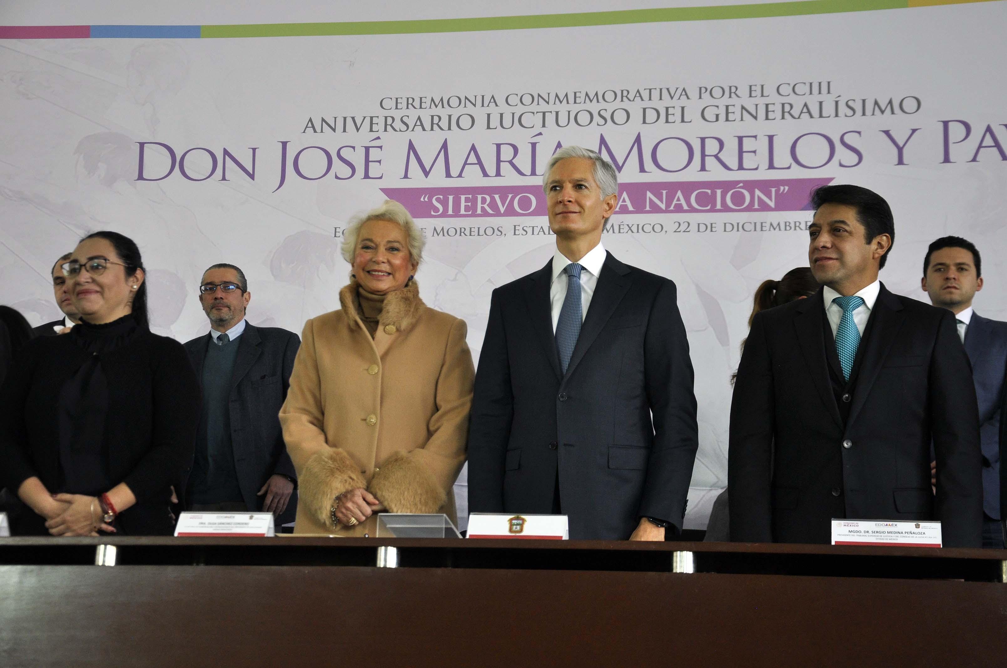 Reitera ADMM compromiso del EdoMéx con la federación para contribuir en proyecto de desarrollo del país