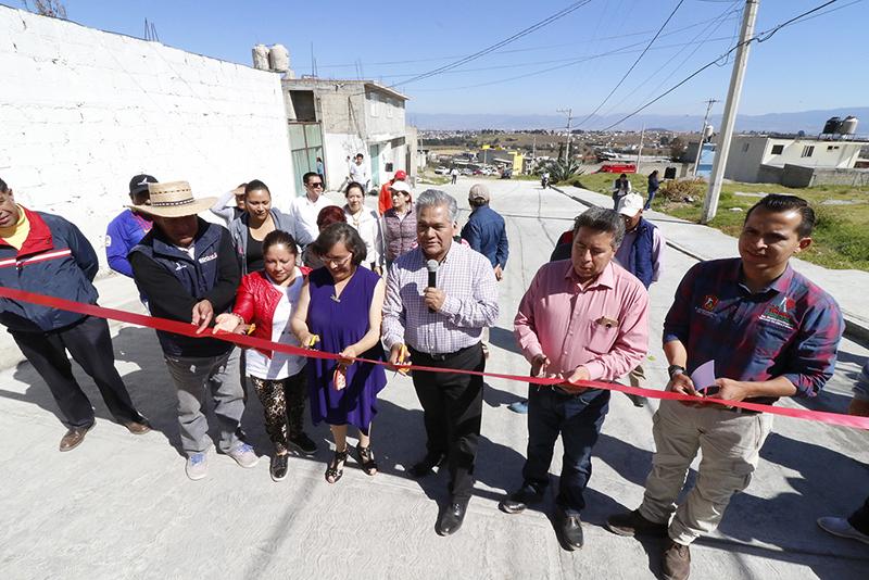 Más de diez años de espera para tener una calle pavimentada en San Juan Tilapa