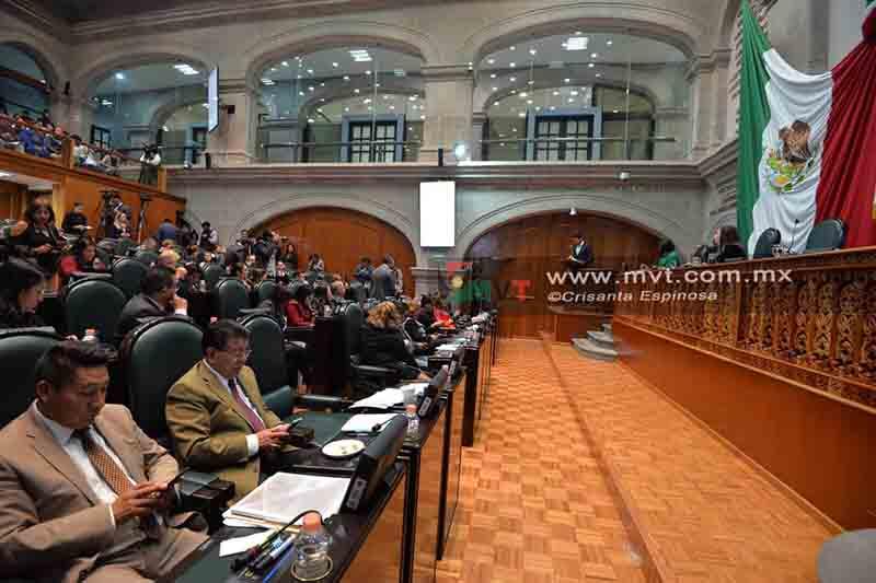 Se oponen legisladores del PAN a abrogación de la Ley ISSEMyM