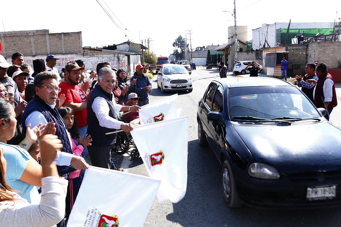 Concluyen autoridades de Toluca rehabilitación de Paseo Totoltepec