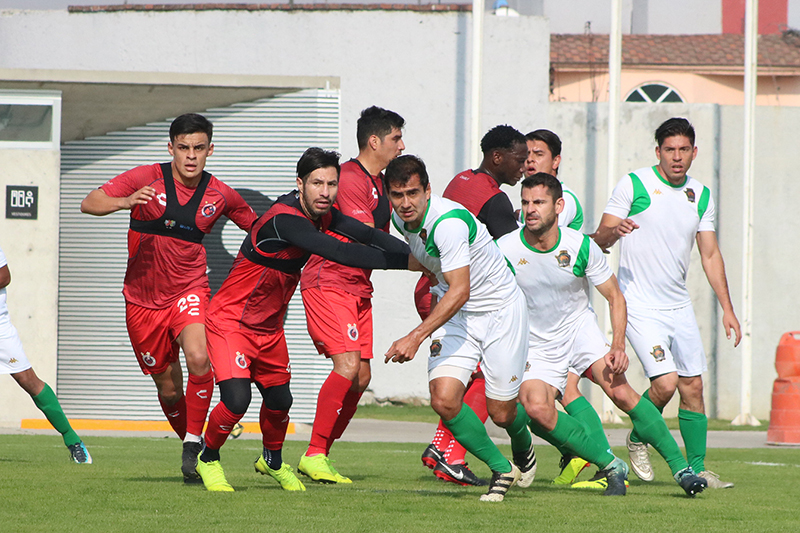 Caen Potros UAEM FC en primer duelo de pretemporada