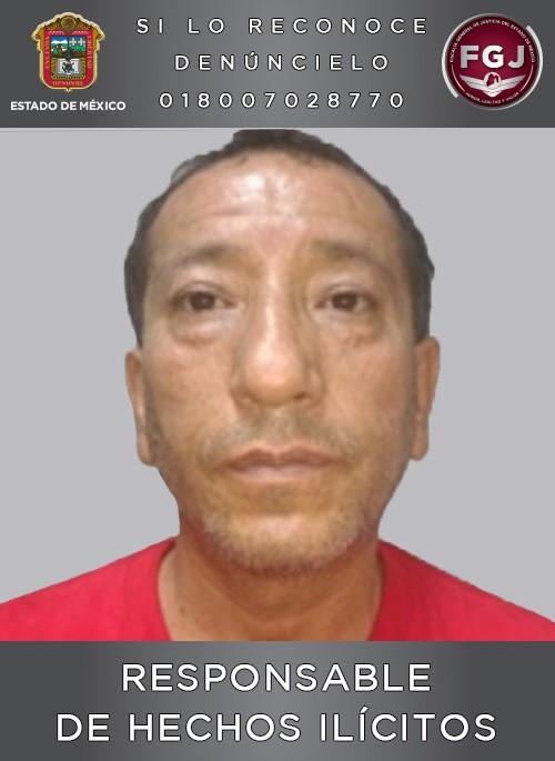 Sentencian a 62 años de cárcel a sujeto que asesinó a su pareja en Zinacantepec