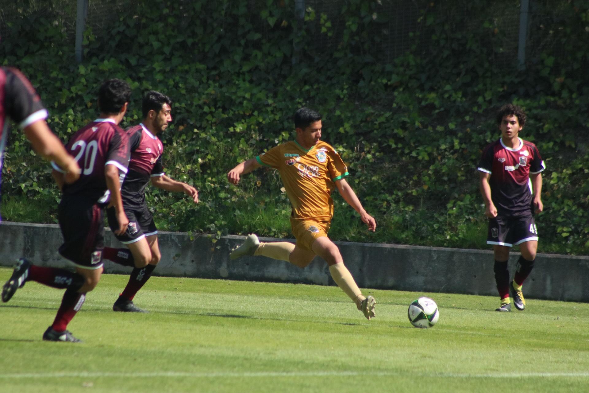 Potros UAEM empata con Cuervos Silver Soccer