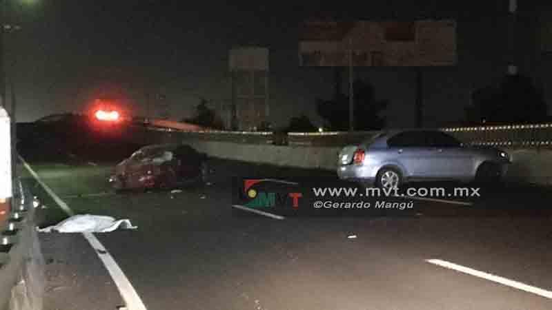 Pierden dos la vida tras accidente en Boulevard Aeropuerto
