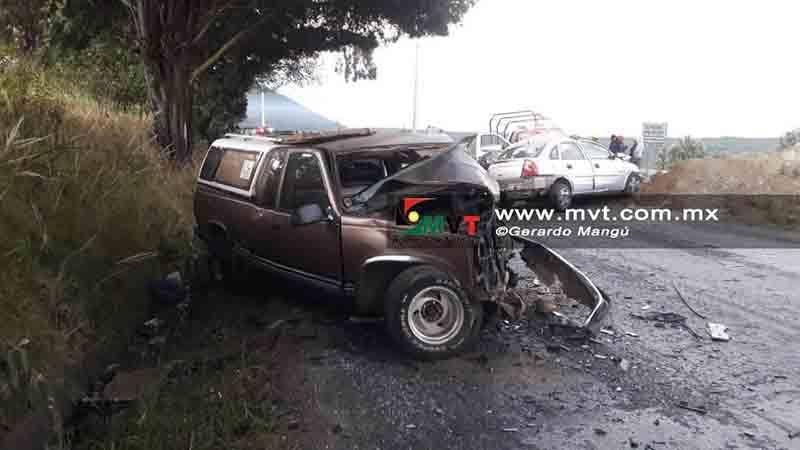 Fallece conductor tras percance en la Tenango-La Marquesa
