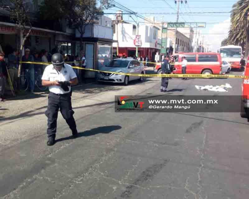 Detienen a chofer de autobús por muerte de mujer atropellada en Toluca