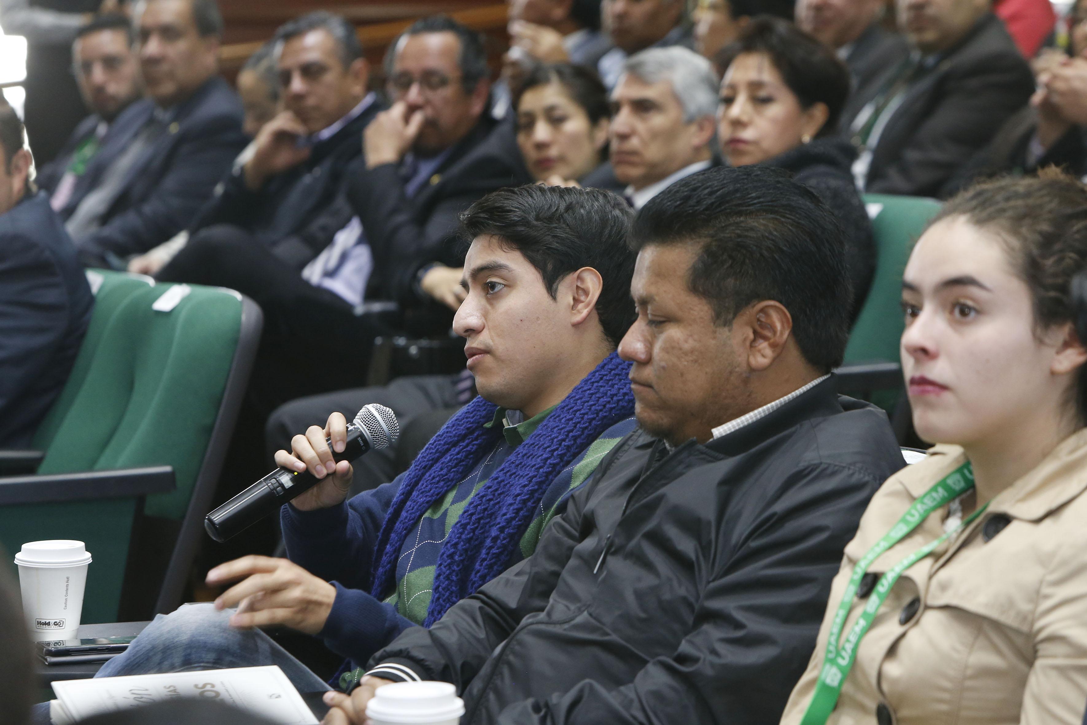 Es UAEM refugio de las libertades: Alfredo Barrera Baca
