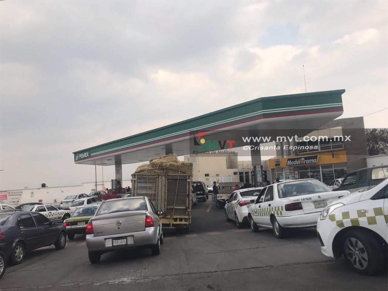 Refuerza Ejército terminales de abastecimiento de gasolina en Edoméx