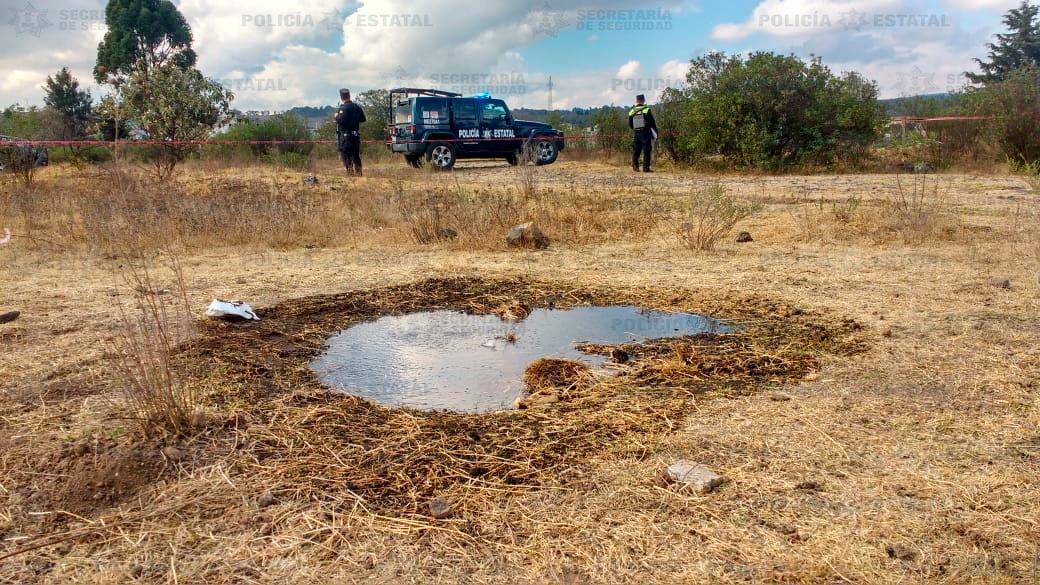 Localiza Secretaría de Seguridad toma clandestina en poliducto de Pemex