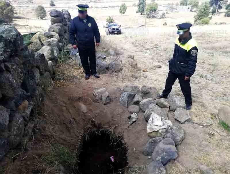 Aseguran toma clandestina de combustible en Atlacomulco