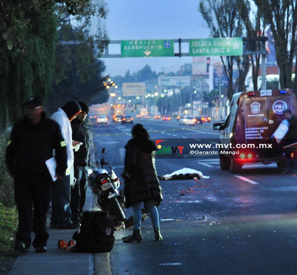 Mueren dos motociclistas en la vía Palmillas