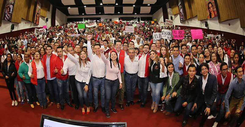 Alan Gutiérrez nuevo dirigente del movimiento PRI.mx en el Edoméx