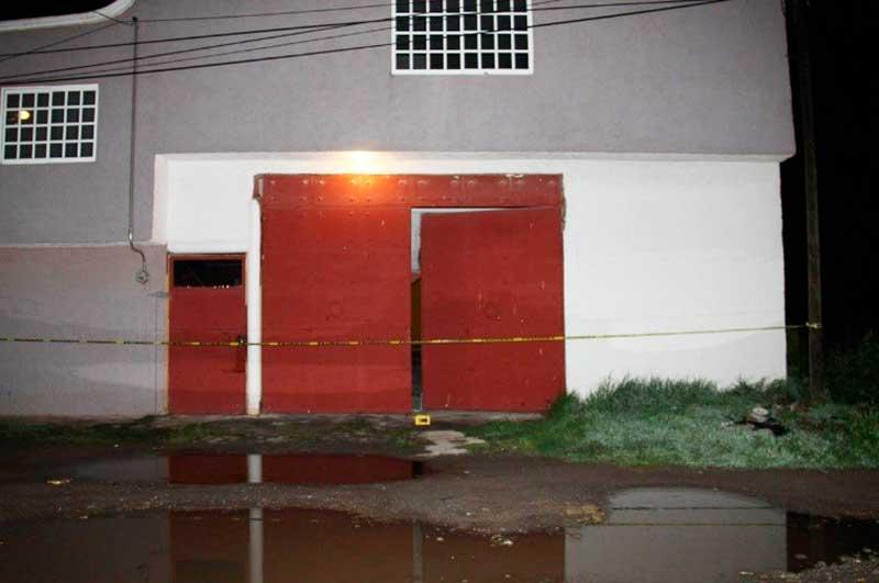 La Fiscalía consigue extinción de dominio de una casa en Toluca usada para retener a persona secuestrada
