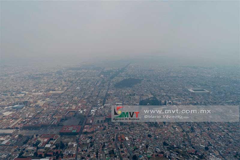 Se activa contingencia ambiental en el Valle de Toluca