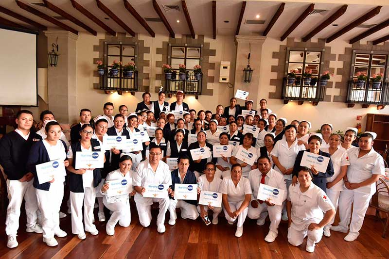 La Cruz Roja realiza estudio para tabular el salario de sus enfermeras