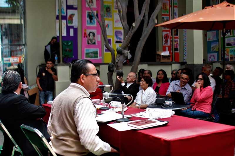 """Las bibliotecas franciscanas en el ciclo de conferencias """"Historia de Toluca"""""""