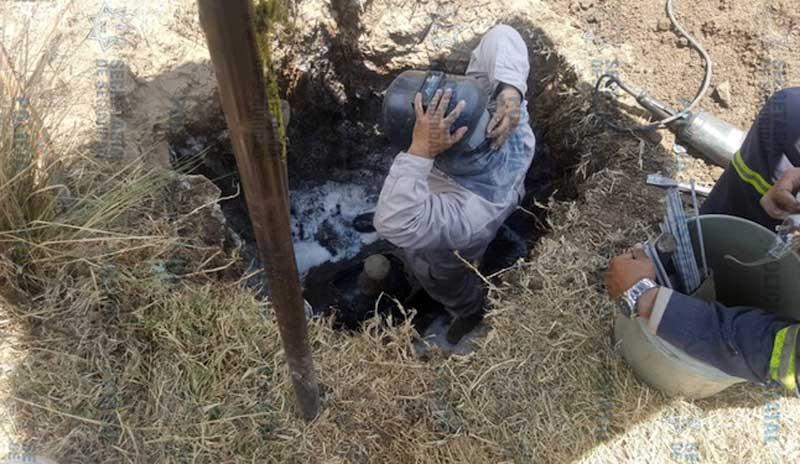 Policías resguardan toma de «huachicol» en Ixtlahuaca