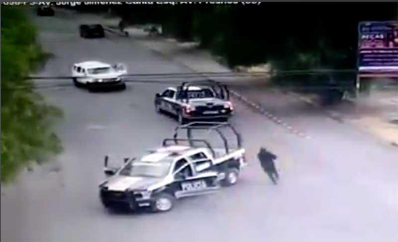 #Video Policías de Cuautitlán Izcalli detienen a ratero de autopartes