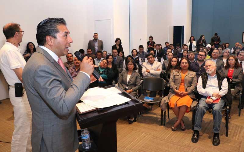 A generar entornos más saludables y respetuosos con el medio ambiente, convoca Juan Rodolfo Sánchez Gómez