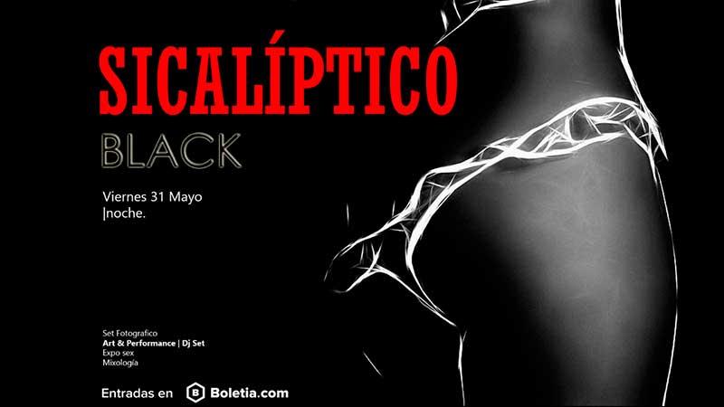 Sicalíptico Black, la fiesta más sensual de la Cdmx